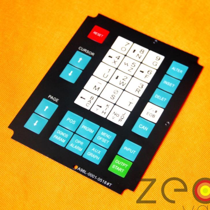 Operador para Fanuc Teclado Membrane Keysheet 1 Pcs A98l-0001-0518 t
