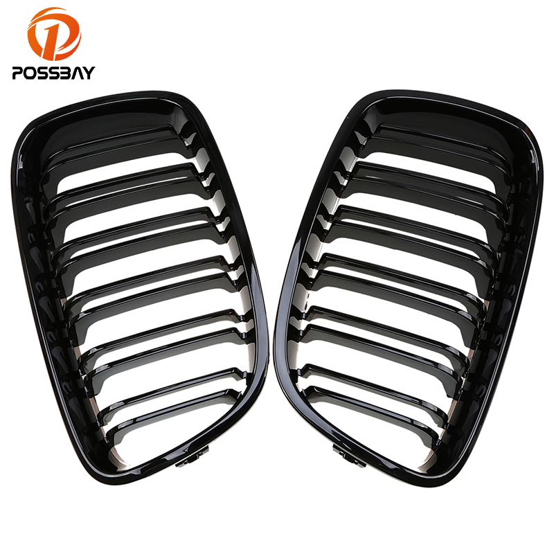 POSSBAY Racing Grill for BMW 1-Series F21 125d/125i/M135i 3-door 2012-2015 Car Gloss Black Kidney Front Sport Hood Grill GrillesPOSSBAY Racing Grill for BMW 1-Series F21 125d/125i/M135i 3-door 2012-2015 Car Gloss Black Kidney Front Sport Hood Grill Grilles