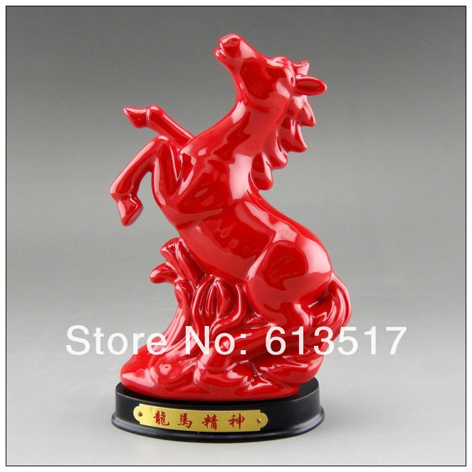 Wholesale the ceramic horse furnishing decoration arts for Arts and crafts wholesale