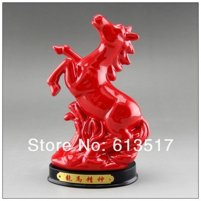 Wholesale the ceramic horse furnishing decoration arts for Bulk horseshoes for crafts