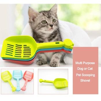 Pet Supplies Pet Potty Cat Poop High Quality Plastic Sand Shovel Dog Waste Removers Multihole Shovel Sand Scraper Scooper 1