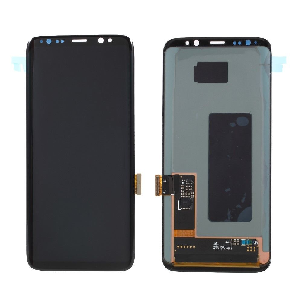 AMOLED <font><b>S8</b></font> LCD Display For <font><b>Samsung</b></font> <font><b>Galaxy</b></font> <font><b>S8</b></font> LCD Screen <font><b>G950</b></font> G950F Display Touch Screen Digitizer Frame Assembly image
