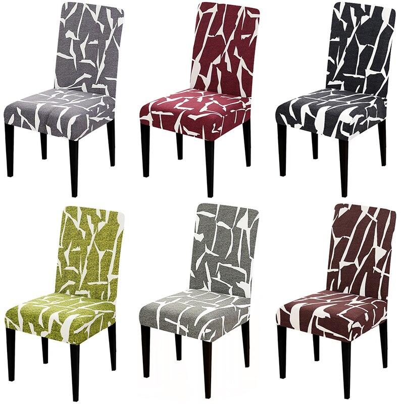 2019 Mode 1 Stuk 6 Kleuren Voor Keuze Stoel Cover Wasbare Afneembare Grote Elastische Seat Arm Covers Kussenovertrekken Stretch Voor Banket Hotel Thuis