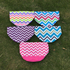 Ready In Stock Easter Bucket Multi Colored Chevron Easter Bucket Free Shipping Rainbow Chevron Easter Basket