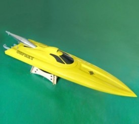 купить Osprey Racing Boat/ Rocket Boat/ Gasoline Boat with 26CC Zenoah Engine-Yellow недорого