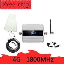 4 4G LTE DCS 1800 900mhz の携帯リピータ GSM 1800 60dB 利得機動電話ブースター GSM 2 グラム 4 グラム amplificador ホイップアンテナ
