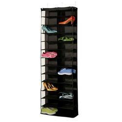 26 Door Hanging Shoes Bags Waterproof Storage Rack Save Space Foldable Door Wardrobe High Heel Slippers Organizer Storage Bags