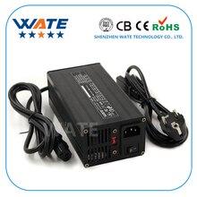 Cargador 71,4 V 5A 17S 62,9 V e bike Li ion batería inteligente Lipo/LiMn2O4/LiCoO2 cargador de batería certificación Global