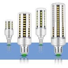 Corn Lamp E14 Led Bulb 220V Light Bulb Led E27 Bombillas 5W 7W 9W 12W 15W 20W 25W High Power Led Lamp 110V Lampadine 5736 SMD все цены