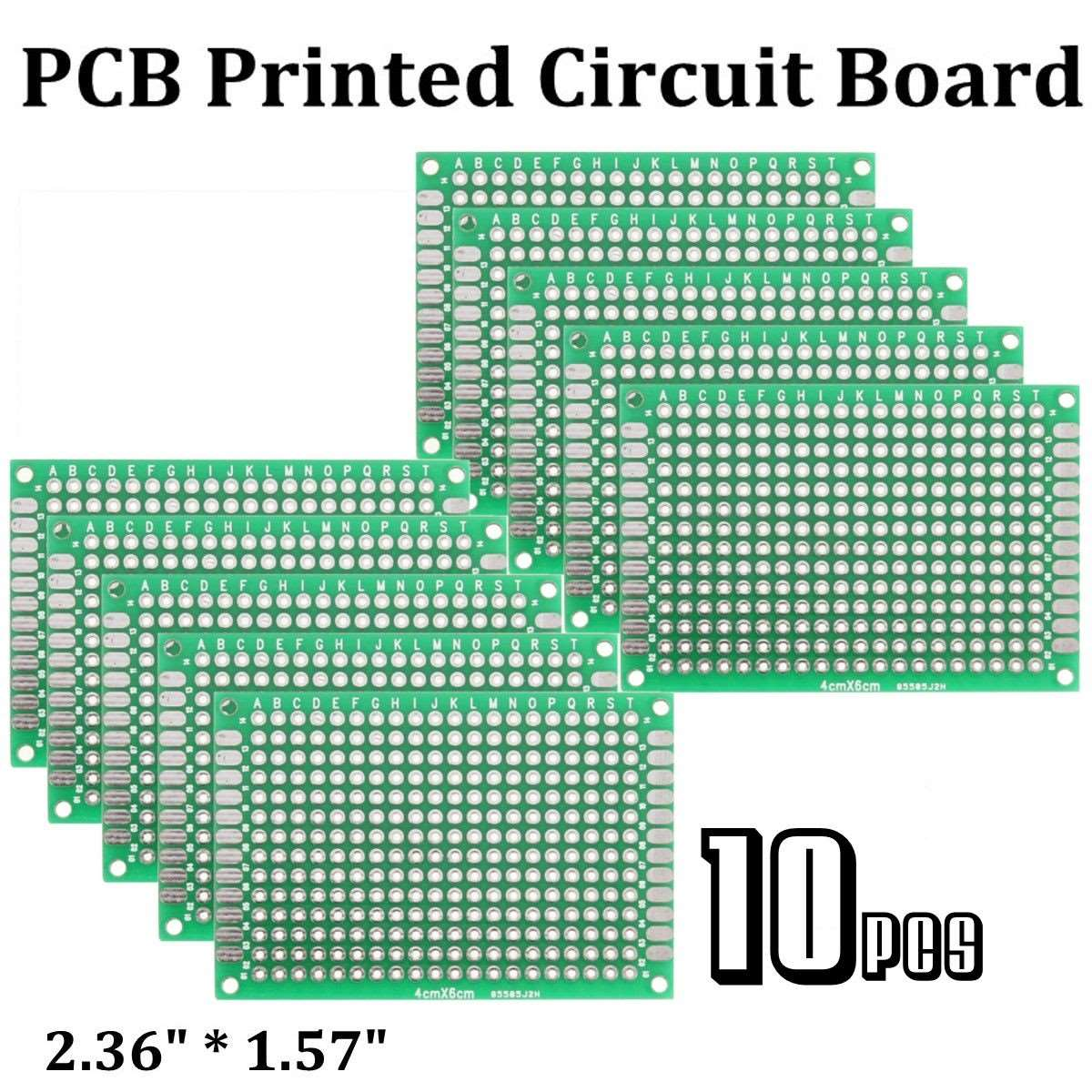 10pcs High-quality!! Double Side Prototype PCB diy Universal Printed ...