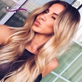 Peruvian Human Hair 4 Bundles 1b/27 613 Blonde Ombre Human Hair Extension Dark Roots Two Tone Ombre Hair Weave Wefts Black Women