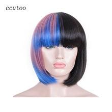 Black Hair Blue ccutoo
