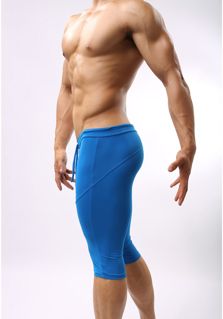 Mens Compression Gear Short Pants Tight Beach Sea Bermuda Boardshorts men outer wear in Casual Shorts from Men 39 s Clothing