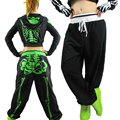 New fashion Brand Skull loose Harem Hip Hop Dance Pants casual  thin Sweatpants Costumes female funny Halloween trousers