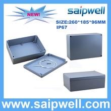 2015 Hot sale Die Cast Aluminum Waterproof Box 260*185*96mm SP-AG-FA66
