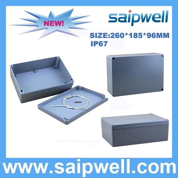 2015 offre spéciale en aluminium moulé sous pression boîte étanche 260*185*96mm SP-AG-FA66