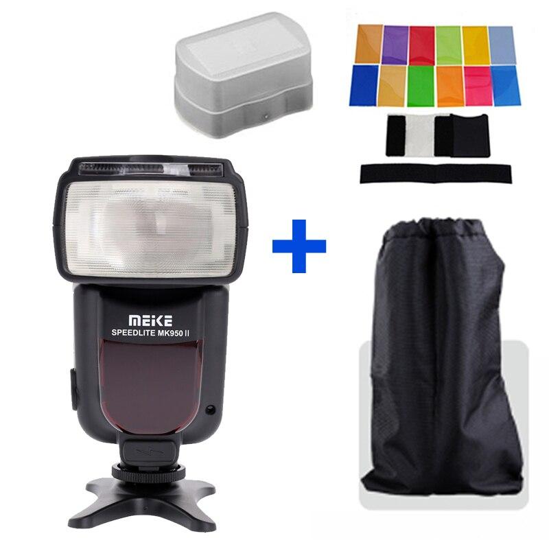 Meike MK-950 MK950II TTL Flash Speedlite Pour Canon EOS 5d ii 6d 7d 50d 60d 70d 550d 600d 650d 700d 580ex 430ex venir yongnuo yn