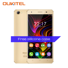 Oukitel C5 5.0 Inch Smartphone Android 7.0 MTK6580 Quad Core 1.3GHz 2GB RAM 16GB ROM 5.0MP 1280*720 GPS WiFi OTA Mobile Phone