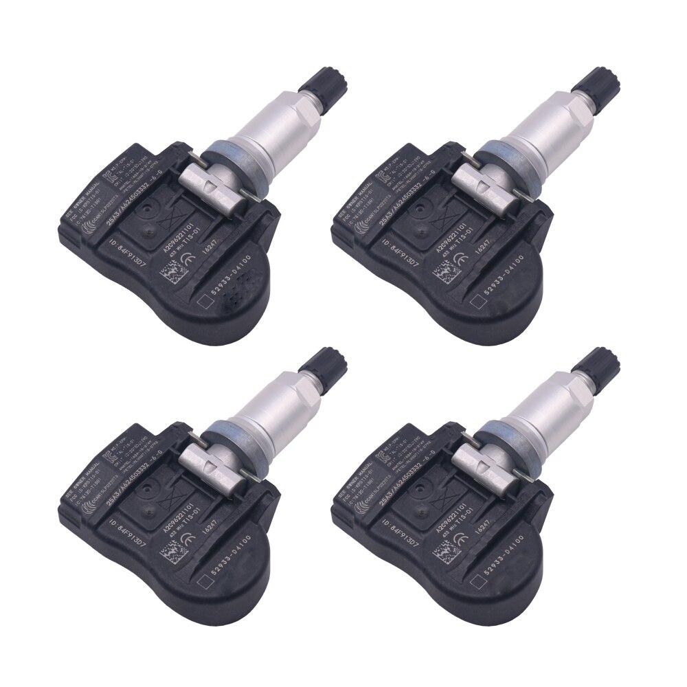 FOR 2015-2021 Kia OPTIMA NIRO Hyundai I30 Genesis TPMS Sensor Tyre Air Pressure Sensor 52933-D4100 52933-F2000 433mhz