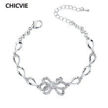 Chicvie известный бренд браслеты с бантами и роскошный браслет