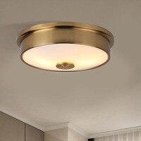 Led licht Hotel wohnzimmer decke licht Gang Schlafzimmer Balkon Runde Moderne Einfache Glas Eisen lampe