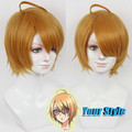 Love Stage Izumi Sena  Wig Cosplay Synthetic Japanese Fiber Hair Synthetic Japanese Fiber Kaneki Peruca Cosplay Perruque Homme
