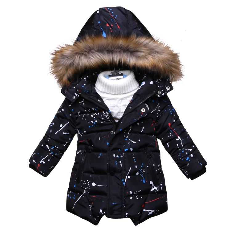 Winter Autumn Jacket For Boys Warm Clothing Boys Clothes Baby Thick Cotton Down Jacket Cold Winter Outwear Parka Kids Coats children winter coats jacket baby boys warm outerwear thickening outdoors kids snow proof coat parkas cotton padded clothes