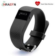 Hraefn Смарт-Группы TW64S Монитор Сердечного ритма Bluetooth smartband Фитнес-Трекер Браслет Браслет Спортивные часы для IOS Android
