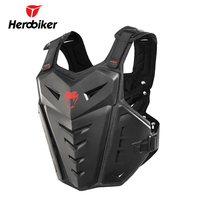HEROBIKER Motorcycle Protection Motocross Racing Armor Riding Body Protection Jacket With A Reflecting Strip Riding Waistguard