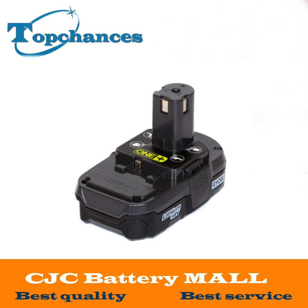 18V 2500mAh Li Ion Rechargeable Battery For Ryobi RB18L25 One Plus for font b power b