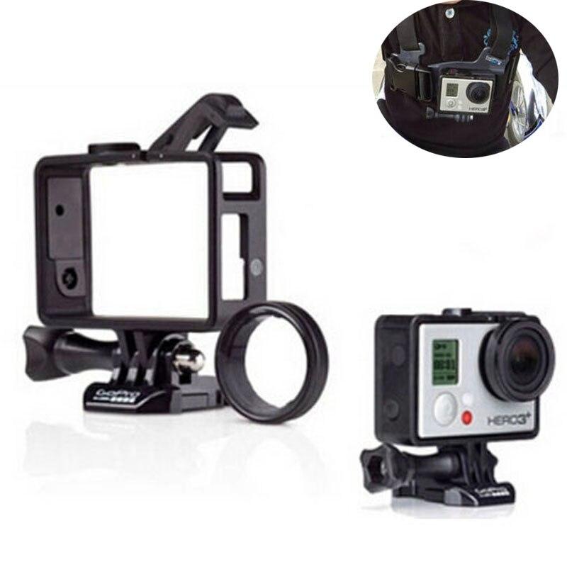 For Gopro Hero 3 3 4 Standard Frame For Gopro Port Cover Camera LCD BacPac Battery