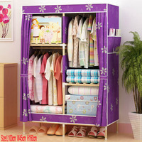 Factory Price Solid Wood Wardrobe  length 100 cm