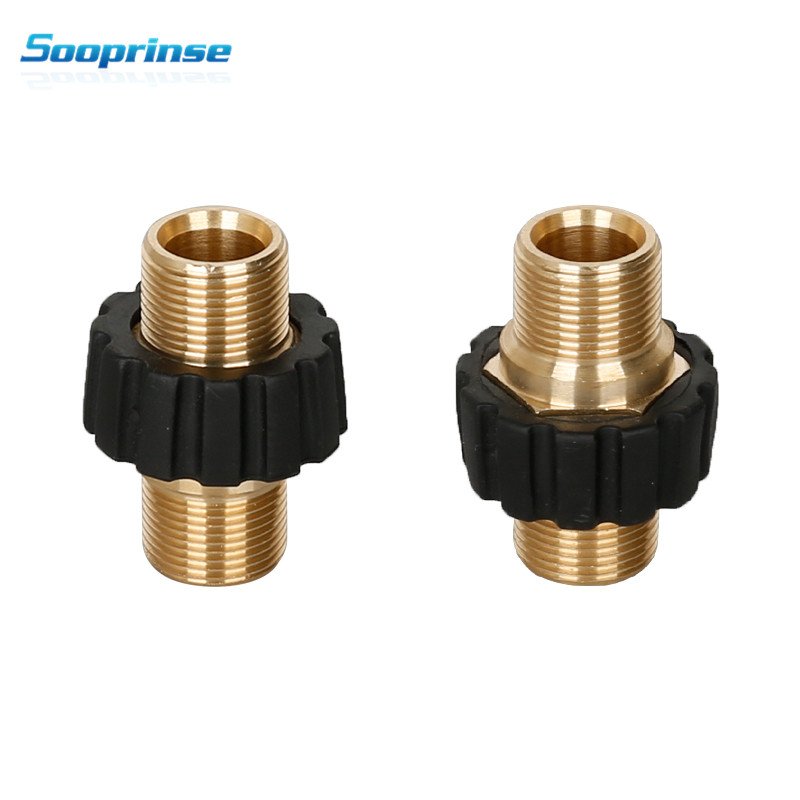 Image 5 - Sooprinse high Pressure Washer Hose Quick Connector, M22 Metric Male Thread Fitting,tornador car accessories Garden Hose Fitting-in Water Gun & Snow Foam Lance from Automobiles & Motorcycles