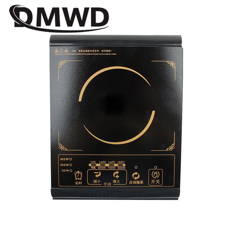 Многофункциональная электрическая индукционная мини-плита DMWD для молока, воды, котел, плита, горелка для чая, кофе, лапша, приготовление пищ...