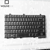 US Keyboard For DELL Alienware M14X R1 R2 R3 R4 NSK AKU0R PK130G81A04 Black with Backlit