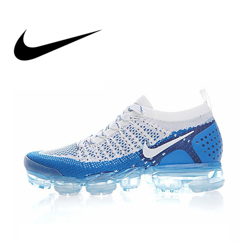 Original authentique NIKE AIR VAPORMAX FLYKNIT 2.0 chaussures de course pour hommes respirant Sports de plein AIR marche jogging Sneakers 942842