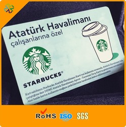 custom VIP GLOSSY PVC card printing membership loyalty plastic card