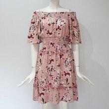 Women's Floral Printed Mini Dress