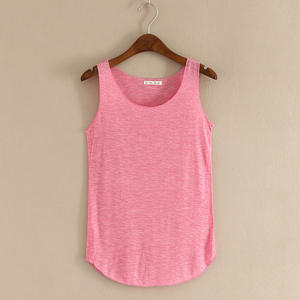 Image 3 - HOT summer Fitness Tank Top New T Shirt Plus Size Loose Model Women T shirt Cotton O neck Slim Tops Fashion Woman Clothes