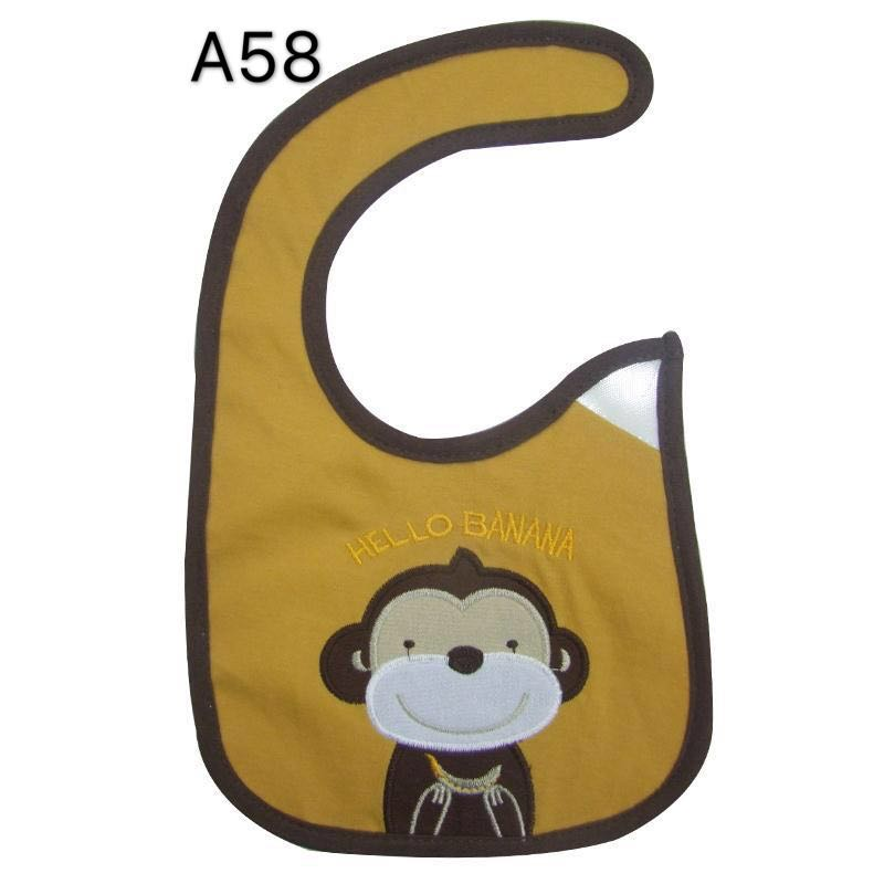 Baby Bib Cotton Waterproof Bib Toddler Infant Saliva Towels Apron Burp Cloth Feeding Accessories Newborn Wear Cartoon baby stuff