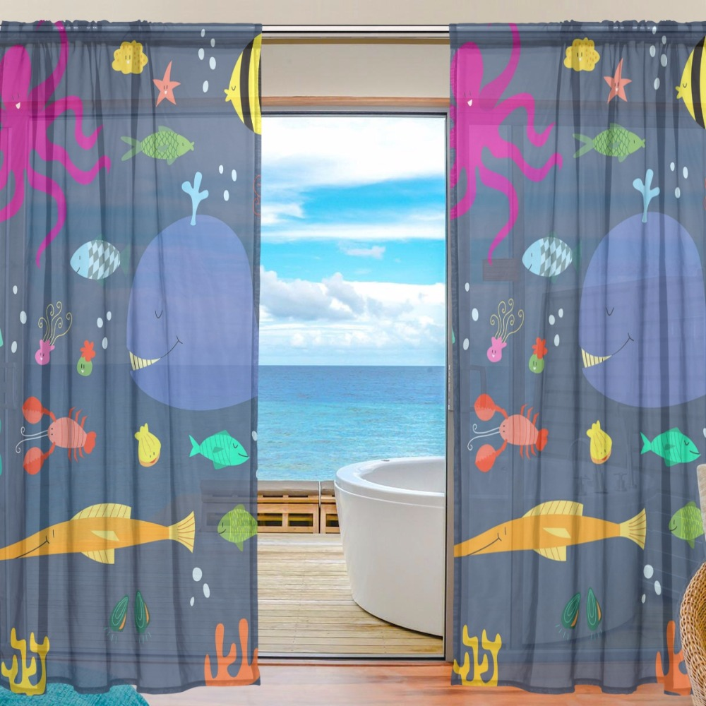 105 Inch Curtains Sheer Door Curtain Panels W55x L78 Inch W55xl84 Inch Peacock