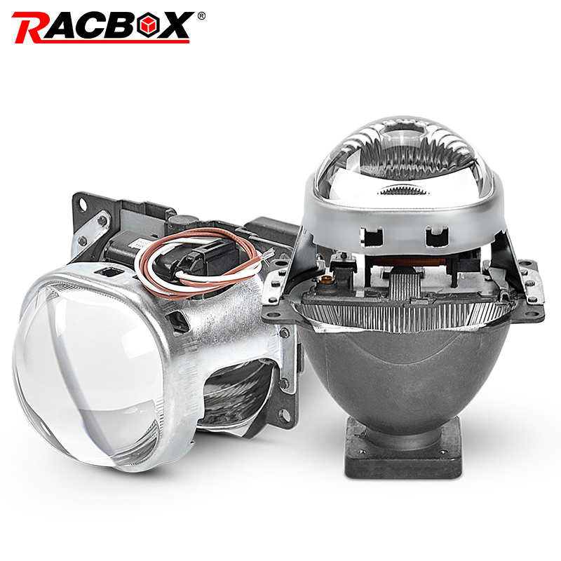 Q5 Square 3.0 inch Bi-xenon Lens Projector HID Headlight Full Metal Headlamp Lenses For D1S D2S D2H D3S D4S Bulbs Car Styling car light accessories amp d2s d2c d2r hid xenon cable adaptor socket for d2 d4 d4s d4r xenon hid headlight relay wiring harness