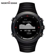 North edge marque de sport hommes montre escalade course de natation intelligent numérique montres hommes altimètre baromètre boussole reloj hombre