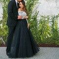 2016 de Moda de Nova Longo Festa De Casamento Tulle Saias Faldas Voltar Tulle saia Mulheres faldas largas Frete Grátis