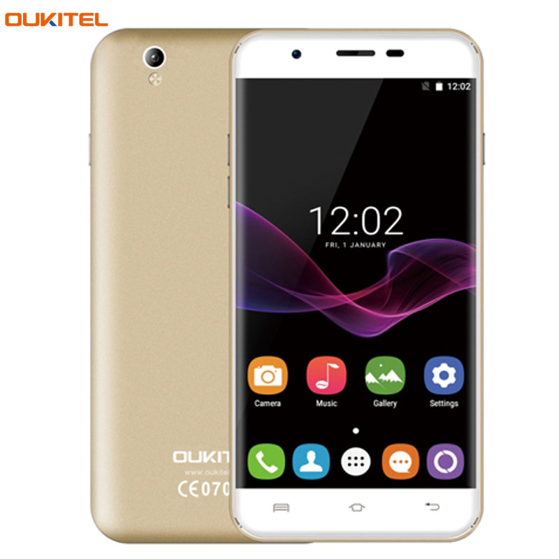 OUKITEL U7 Max 1GB/8GB V Hand Automatic Photograph Letters Quick Open APP 5.5'' 2.5D Curved Screen Android 7.0 MT6580A Quad Core