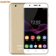 "3G Original Smartphone OUKITEL U7 Max 1GB/8GB 5.5""  2.5D Curved Screen Android 6.0 MT6580A Quad Core 64-bit 1.3GHz Cellphone"