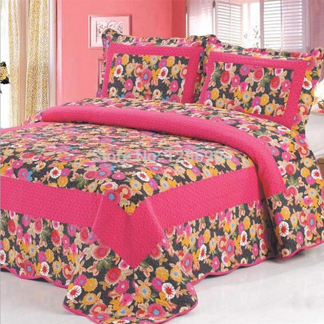 100% Cotton Luxury Brands Bed Sheet Pillowcase Bedding Sets Bedclothes Home  Textile LLN0022 King SIZE