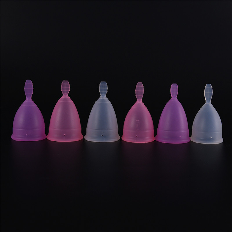 Reusable Menstrual Cup Medical Grade Silicone Lady Period Cup Alternative Tampons Sanitary Pads Feminine Hygiene Vagin Products