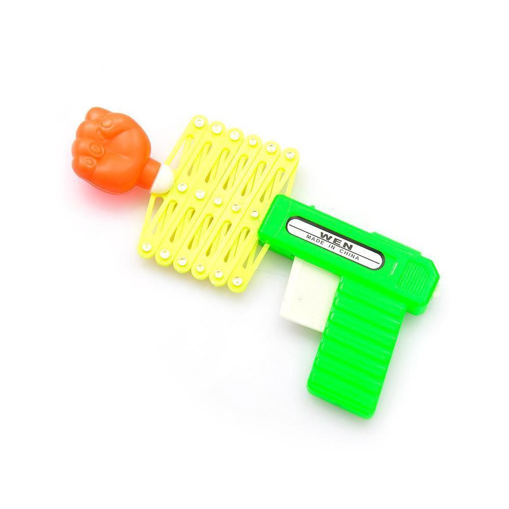 Վերցվող բռունցք ատրճանակ առաձգական խաղալիք ատրճանակ զվարճալի խաղալիքներ մանկական երեխաներ մանկական խաղալիքներ