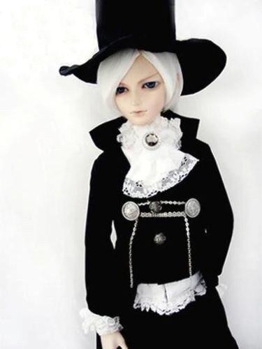 [wamami] 600# Black Vampire Suit/Outfit 1/4 MSD DZ BJD Dollfie american vampire vol 4